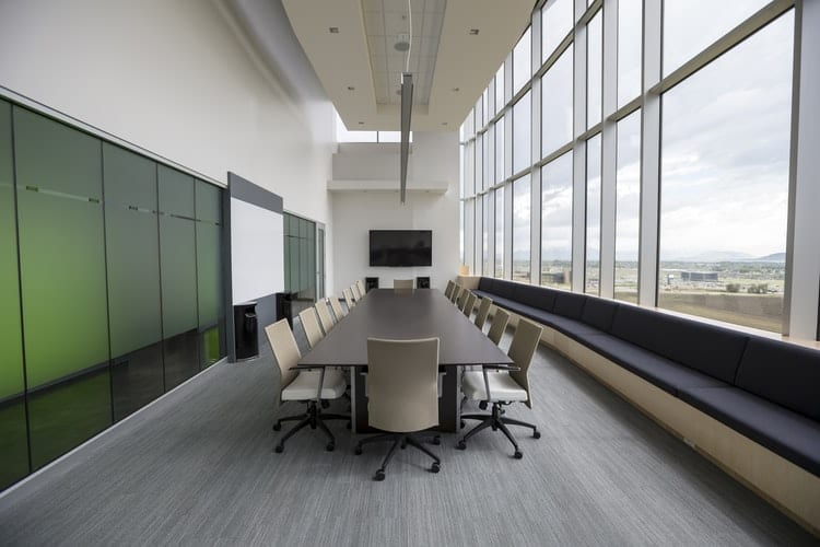 Room with Conference Table and chairs