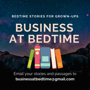 Business at Bedtime podcast Cover image